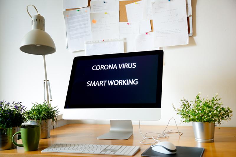 Smart working during coronavirus epidemic